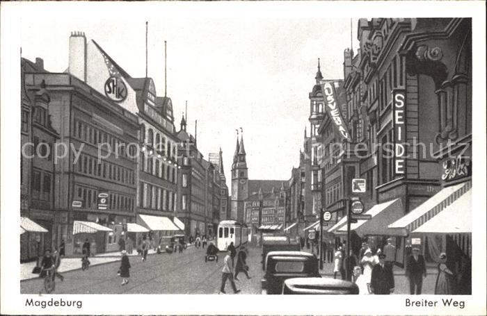 Magdeburg Breiter Weg  Kat. Magdeburg