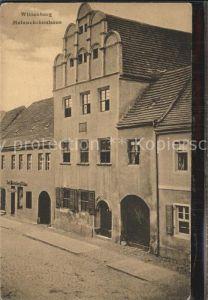 Wittenberg Lutherstadt Melanchthonhaus Kat. Wittenberg