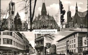 Bad Oeynhausen Ev Kirche Farne Villa Kath Kirche Klosterstr Rathaus Kat. Bad Oeynhausen