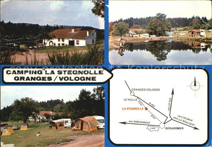 Granges sur Vologne Camping Ferme Auberge La Stegnolle Kat. Granges sur Vologne