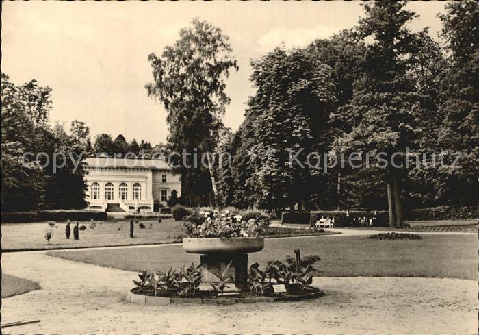 Bad Freienwalde Kurhaus Park Kat. Bad Freienwalde