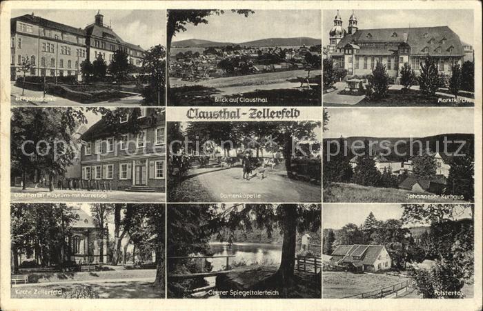Clausthal Zellerfeld Bergakademie Oberer SpiegeltalerteichPolstertal Kat. Clausthal Zellerfeld