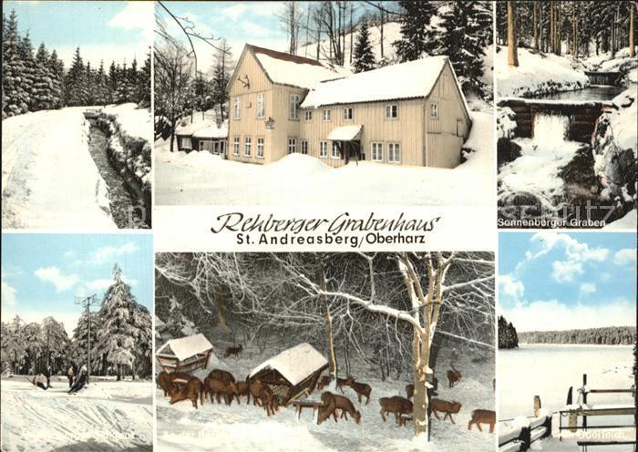 St Andreasberg Harz Rehberger Grabenhaus Kat. Sankt Andreasberg