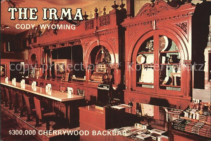 Cody Wyoming Irma Hotel  Backbar Kat. Cody