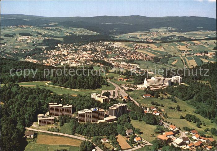 Freyung Fliegeraufnahme Ferienzentrum Geyersberg Kat. Freyung
