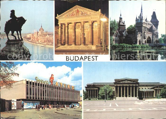 Budapest Denkmal  Kat. Budapest