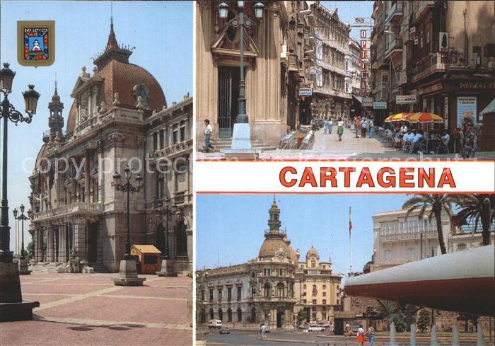 Cartagena Murcia Teilansichten Kat. Cartagena