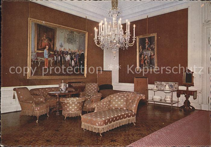 Wien Schloss Schoenbrunn Schlafzimmer Kat. Wien Nr. ks38678 ...