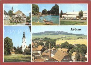 Eibau Freibad Sporthalle Am Kottmar Kirche Kat. Eibau