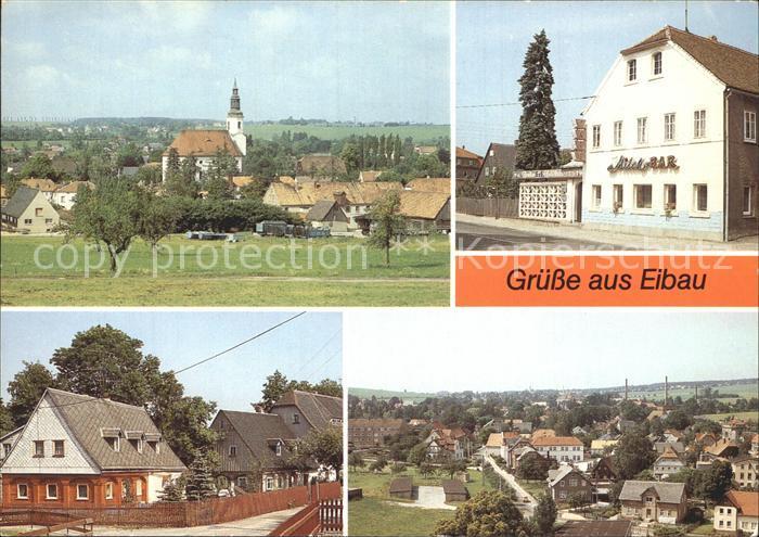 Eibau Beckenberg ilchbar Umgebindehaus Blick vom Kirchturm Kat. Eibau