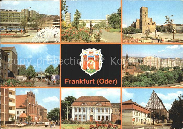 Frankfurt Oder Hotel Stadt Frankfurt Rathaus Botanischer Garten Kat. Frankfurt Oder