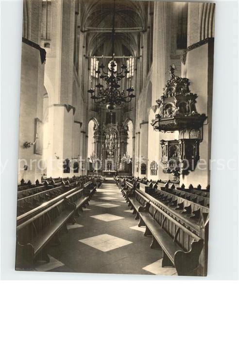 Rostock Mecklenburg Vorpommern Marienkirche Altar Kat. Rostock