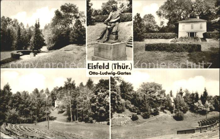 Eisfeld Otto Ludwig Garten Kat. Eisfeld