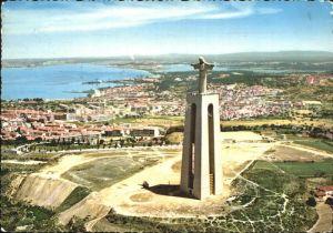 Almada Monument Christ King Fliegeraufnahme Kat. Almada