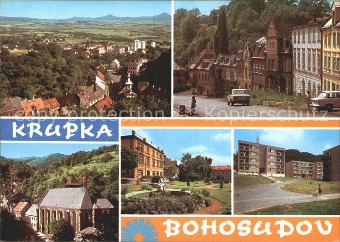 Bohosudov Krupka Kirche Teilasichten Kat. Mariaschein