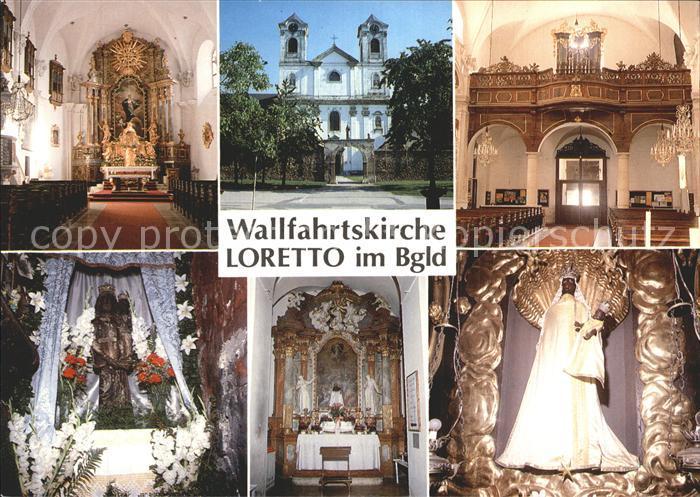 Loretto Burgenland Wallfahrtskirche  Kat. Loretto