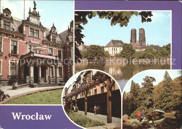 Wroclaw Dom Wandellauben Kat. Wroclaw Breslau