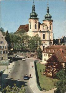 Donaueschingen Partie bei der Stadtkirche Kat. Donaueschingen