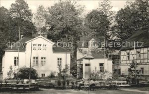 Zschopau Wismut Sanatorium Warmbad Kat. Zschopau