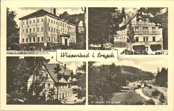 Wiesenbad  Kat. Thermalbad Wiesenbad