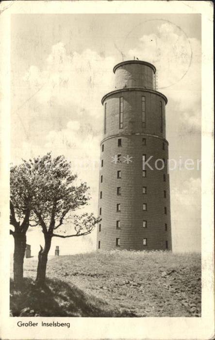 Inselsberg Schmalkalden Aussichtsturm Kat. Schmalkalden