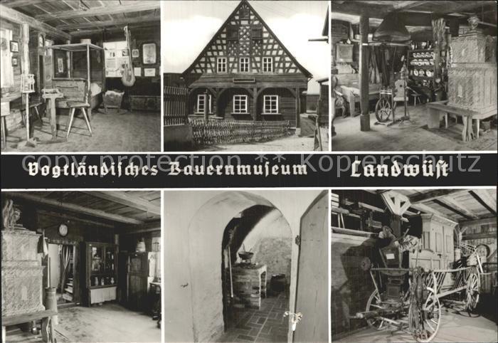 Landwuest Vogtlaendisches Bauernmuseum Kat. Markneukirchen