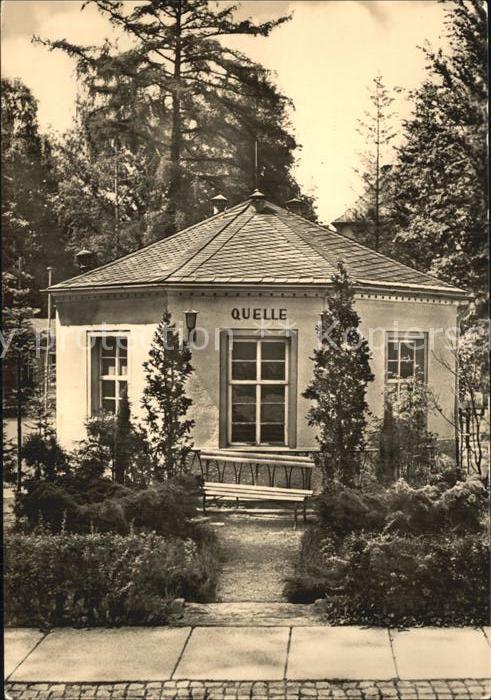 Warmbad Wolkenstein Wismut Sanatorium Quelle Kat. Wolkenstein