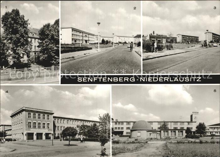 Senftenberg Niederlausitz Krankenhaus Strasse des Bergmanns Polytechnische Oberschule Otto Grotewohl  Kat. Senftenberg