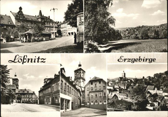 Loessnitz Erzgebirge  Kat. Loessnitz