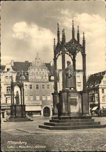 Wittenberg Lutherstadt Luther und Melanchthon Denkmal Kat. Wittenberg