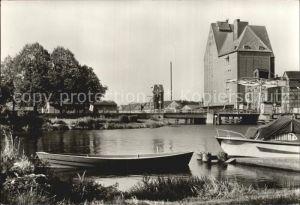 Demmin Mecklenburg Vorpommern Hafen Kat. Demmin