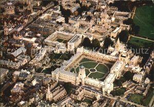 Oxford Oxfordshire Fliegeraufnahme Christ Church / Oxford /Oxfordshire
