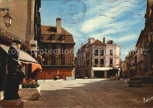 Auxerre La Place de Hotel de Ville Kat. Auxerre