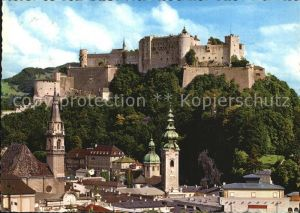 Hohensalzburg Festung Franziskanerkirche Kat. Salzburg