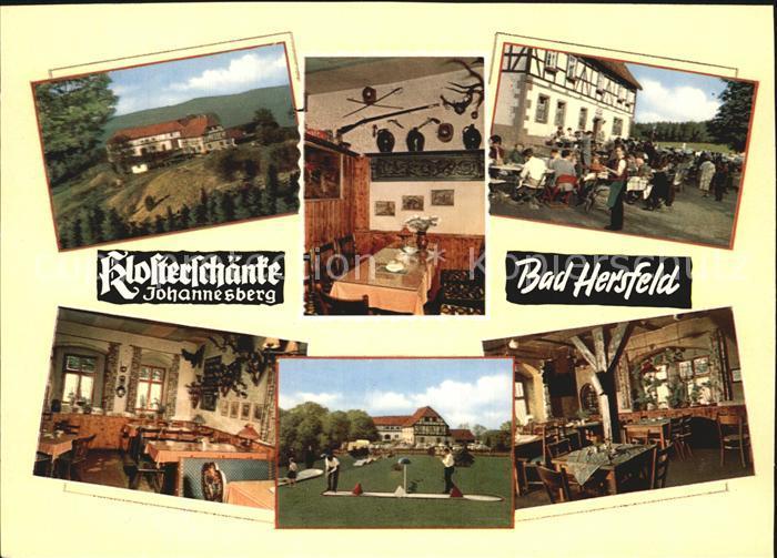 Bad Hersfeld Klosterschaenke Kat. Bad Hersfeld Nr. ks58861 ...