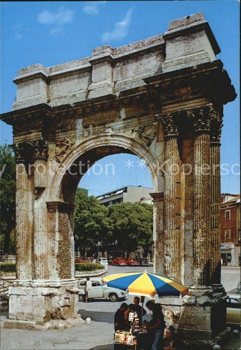 Pula Arc de Triomphe Kat. Pula