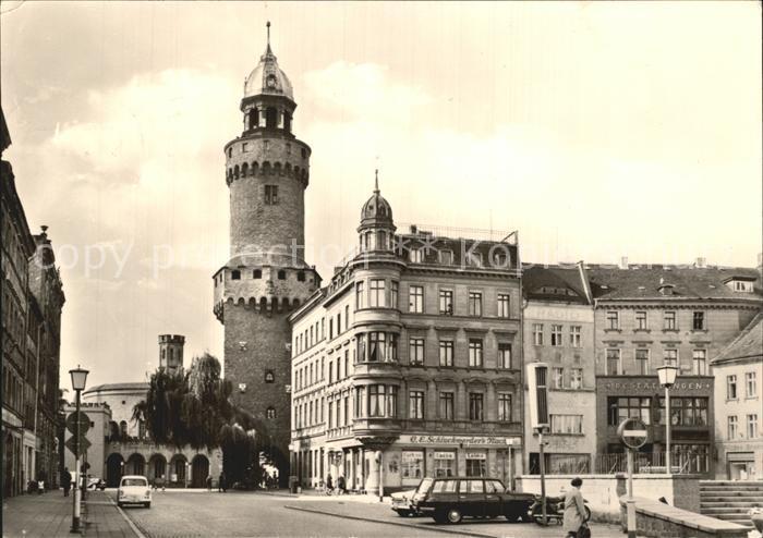 Goerlitz Sachsen Reichenbacher Turm Kat. Goerlitz