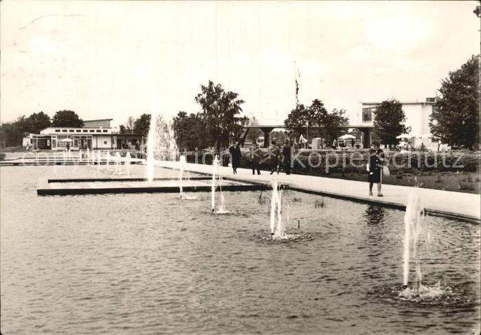 Erfurt 1. internationale Gartenbauausstellung der sozialistischen Staaten Kat. Erfurt
