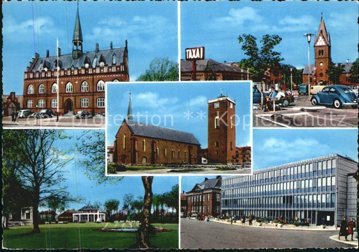 Herning Kirche Rathaus  Kat. Herning