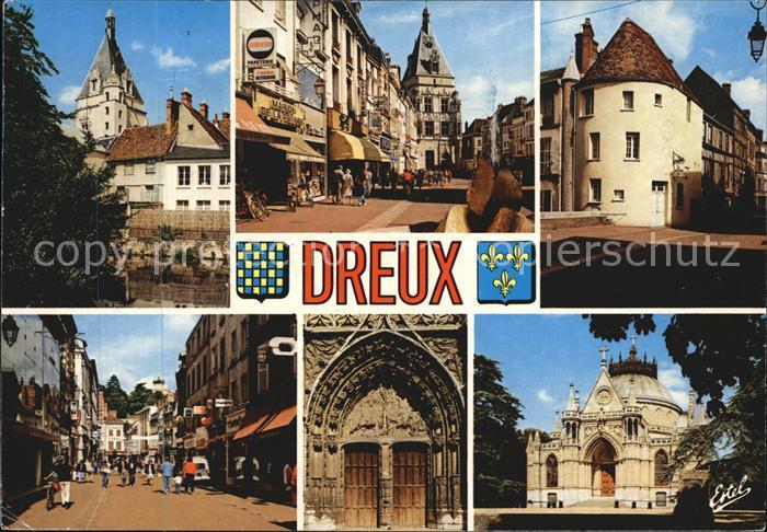 Dreux Haupteingang Kirche Saint Pierre k?nigliche Kapelle Saint Louis Kat. Dreux