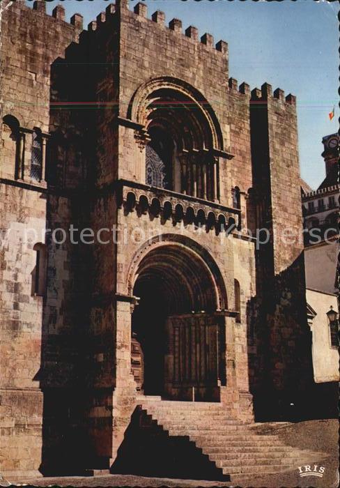 Coimbra Romanische Kathedrale Se Velha Kat. Coimbra
