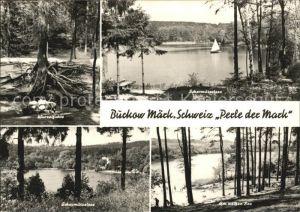 Buckow Maerkische Schweiz Perle der Mark Scharmuetzelsee Weisser See Kat. Buckow Maerkische Schweiz