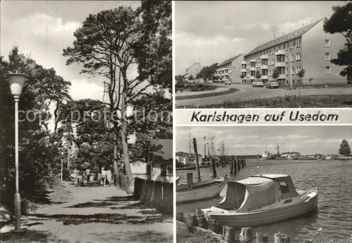 Karlshagen Usedom Weg zum Strand Fischereihafen Kat. Karlshagen Usedom