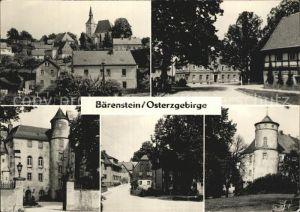 Baerenstein Altbezirk Dresden Schloss Kirche Ortsansicht