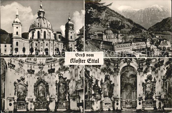 Ettal Kloster Ettal Details Kat. Ettal