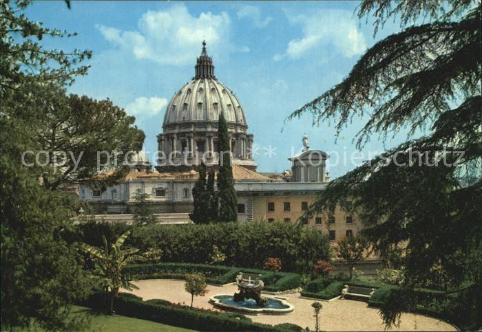 Vatican Citta del Vaticano Giardini Vaticani Kat. Vatican