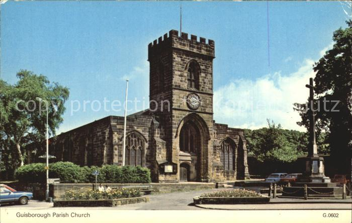 Parish Church Guisborough Kat. Parish
