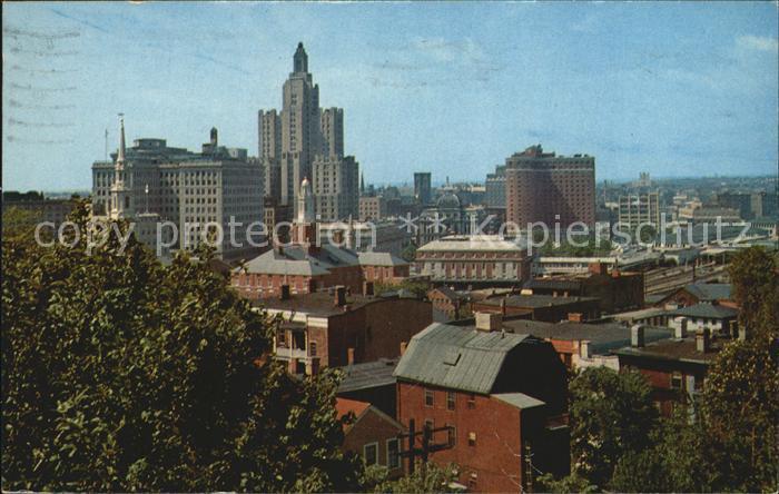 Providence Rhode Island Skyline Kat. Providence