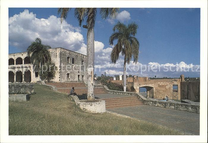Santo Domingo Distrito Nacional Alcazar y Puerta de San Diego Kat. Santo Domingo