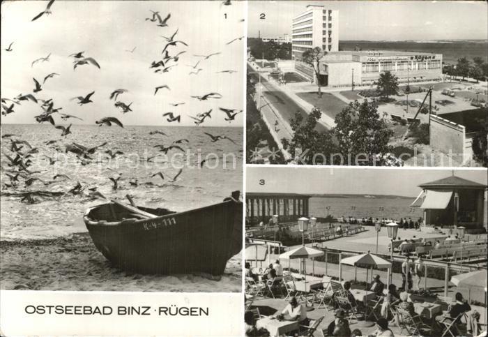 Binz Ruegen Strand Erholungsheime Arkona und Ruegen Kurhaus Konzertpavillon Kat. Binz